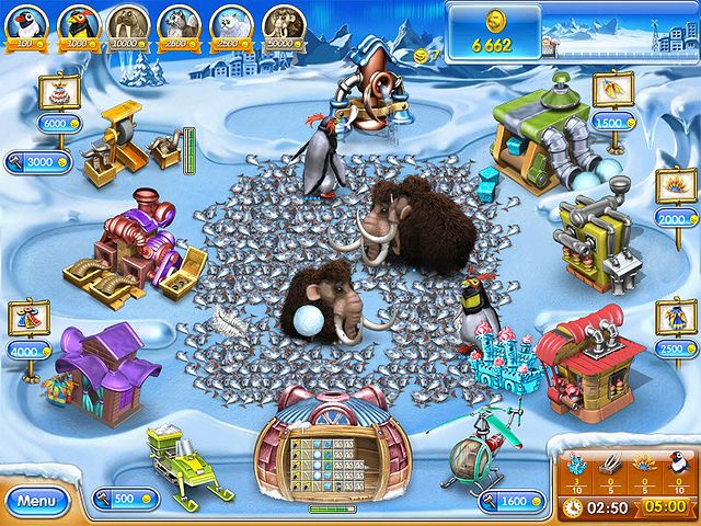 Screenshot jogo  «Farm Frenzy 3: Ice Age» № 4