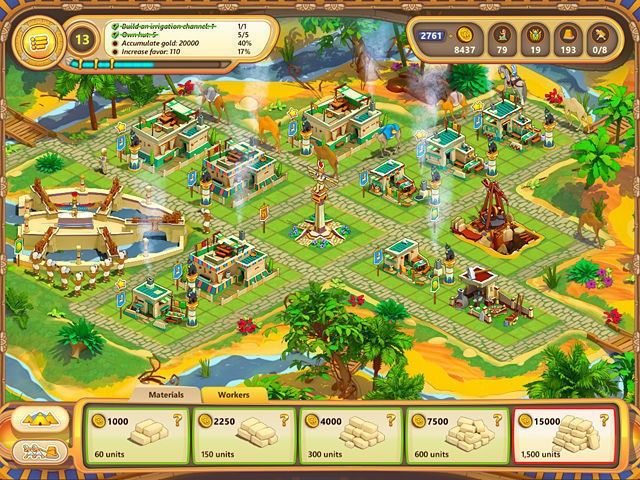 Screenshot jogo  «Ramses: Rise of Empire. Collector's Edition» № 4