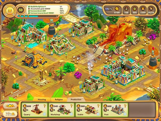 Screenshot jogo  «Ramses: Rise of Empire. Collector's Edition» № 2