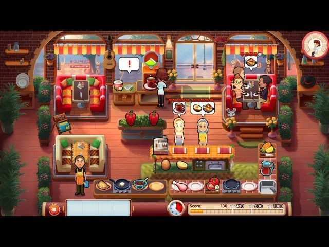 Screenshot jogo  «Mary le Chef: Cooking Passion. Platinum Edition» № 2
