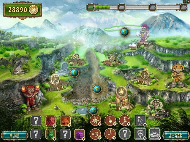 Screenshot jogo  «The Treasures Of Montezuma 2» № 3