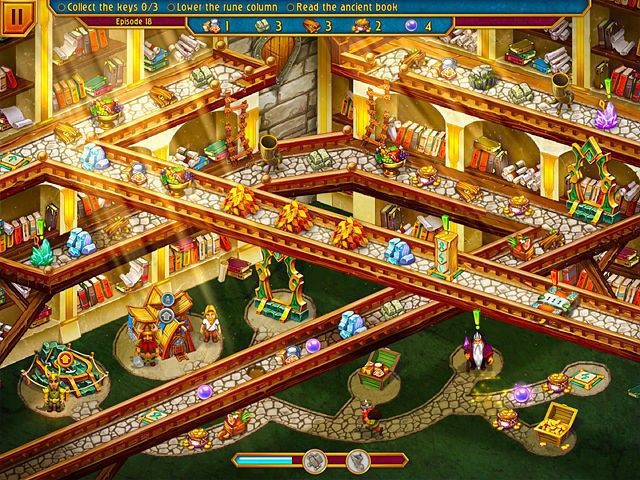 Screenshot jogo  «Viking Brothers 4» № 4