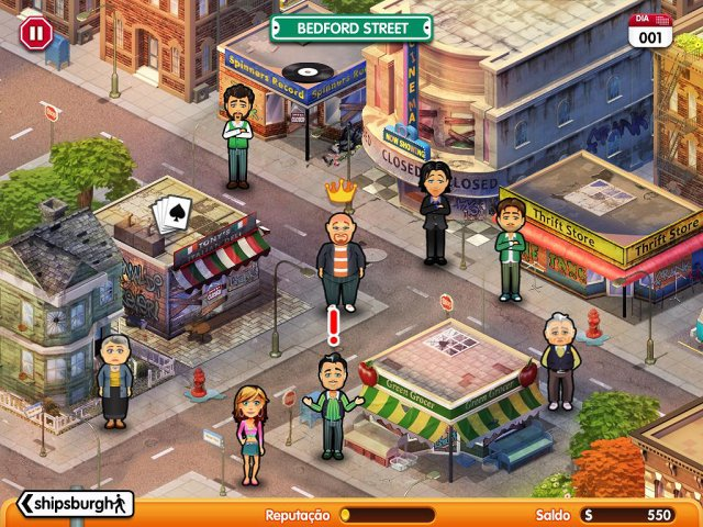 Screenshot jogo  «Hometown Poker Hero» № 1